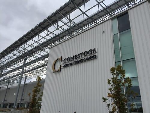 Conestoga College sign